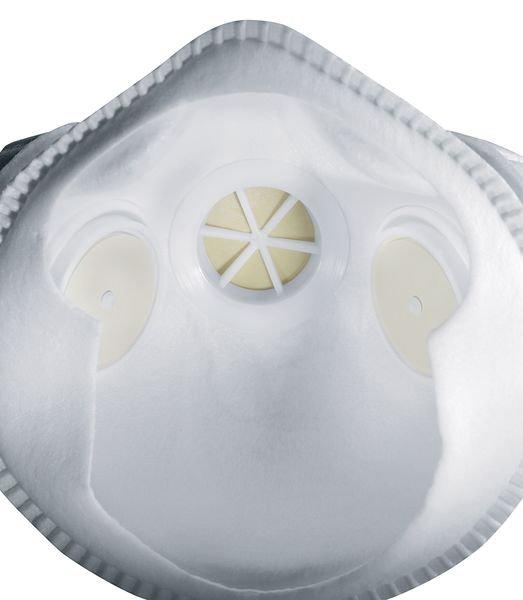 Masque anti-poussières FFP3 Uvex® Silv-Air Série E - réutilisable - Masques de protection respiratoire
