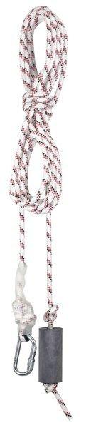Ligne de vie pour travaux en hauteur, corde Ø 14/16 mm