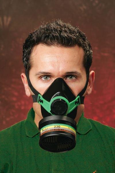 Demi-masque de protection respiratoire monofiltre classique - Seton
