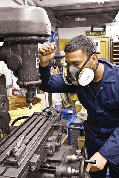 Demi-masque de protection respiratoire bi-filtre standard - Seton