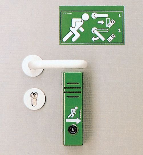 Dispositif alarme de porte - Alarmes de porte, alarmes de poignées pour issues de secours