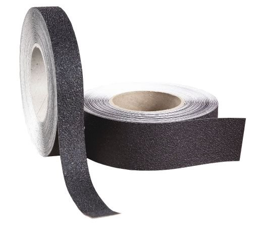 Bandes antidérapantes lavables noirs en formes pré-découpées - Bandes antidérapantes adhésives