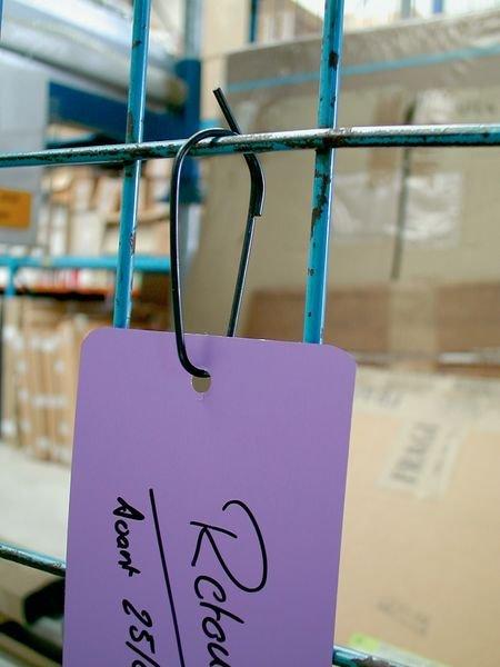 Attache-étiquettes en acier - Seton