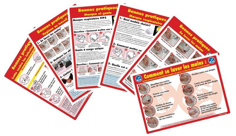 Prix Spécial - Kit 5 affichages obligatoires Soins des personnes