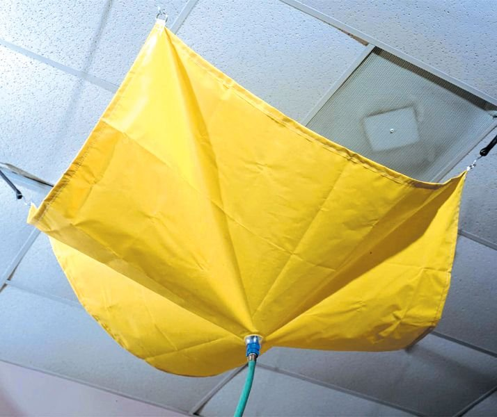 Bâche anti-fuite auto-extinguible pour toit - Seton