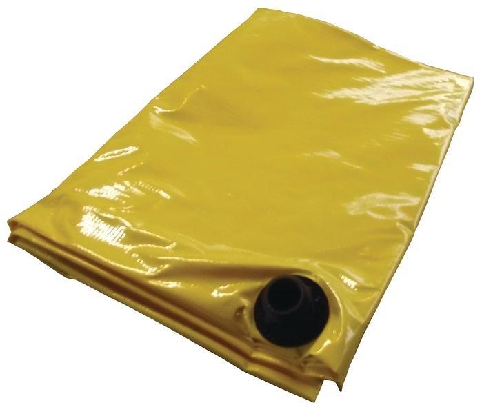Bâche anti-fuite auto-extinguible pour toit