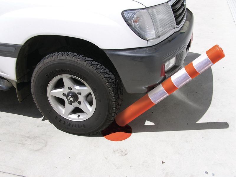 Balise de signalisation en PVC souple rétro-réfléchissante - Poteaux de voirie