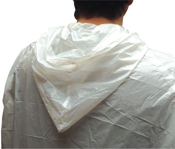 Blouse blanche de travail jetable pour visiteurs - Seton