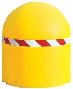 Borne de voirie lestable jaune à grand diamètre - Seton
