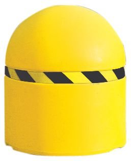 Borne de voirie lestable jaune à grand diamètre - Balises de chantier