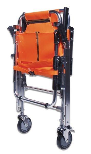 Chaise portoir pliable 2 roues - Seton