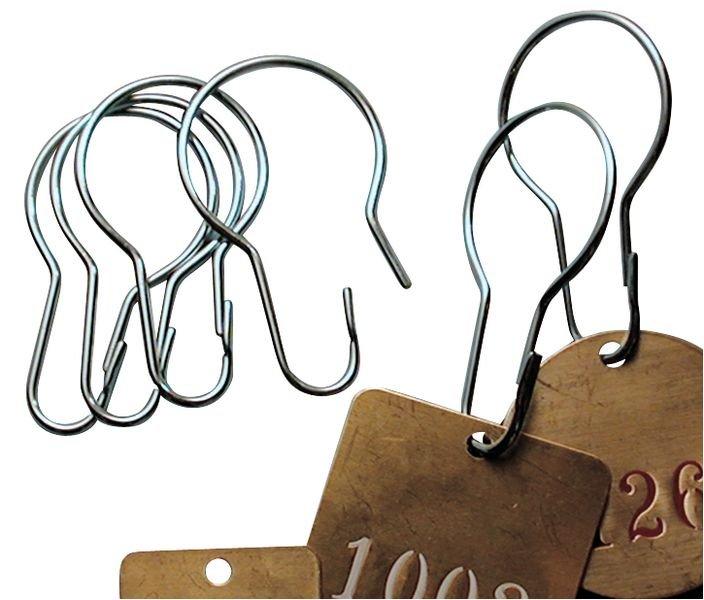 Clip métallique pour fixation de plaquettes - Accessoires de fixation pour plaquettes et jetons