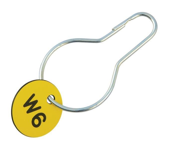 Clip métallique pour fixation de plaquettes - Seton