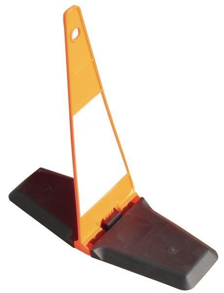Sac avec cônes de chantier repliables