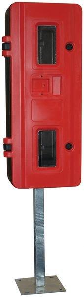 Pied de fixation pour coffres à extincteur - Coffrets pour extincteurs