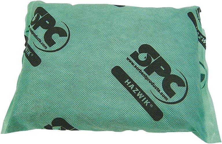 Coussins absorbants pour produits chimiques et dangereux