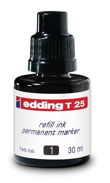 Encre de recharge pour marqueurs permanents Edding