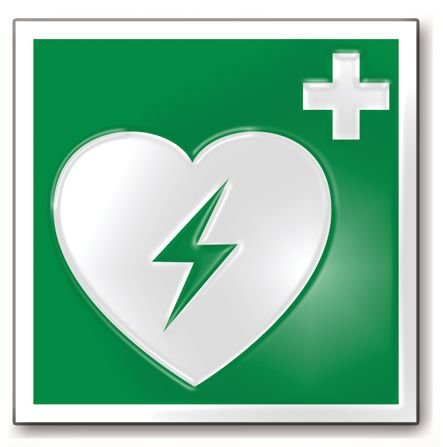 Défibrillateur HeartStart HS1 avec coffret et signalétique - Défibrillateur Automatique Externe (DAE)