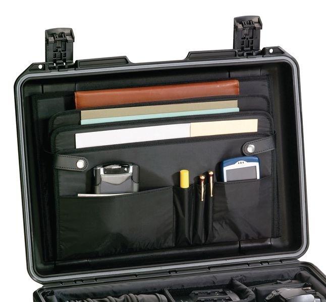 Pochette couvercle pour valises PELI™ IM2600 et IM2620