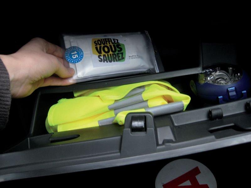 Kit éthylotest pour boîte à gants - Seton
