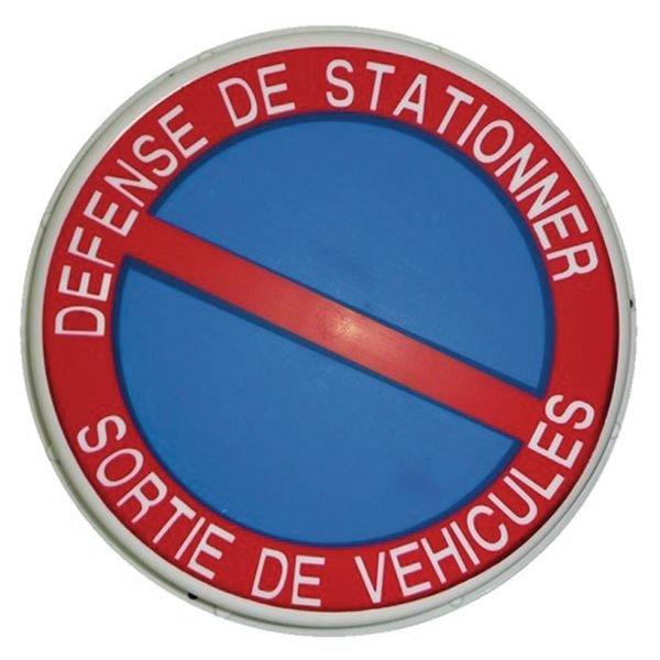 Panneau lumineux - Défense de stationner Sortie de véhicules