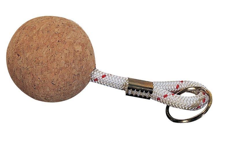 Porte-clés flottant boule de liège