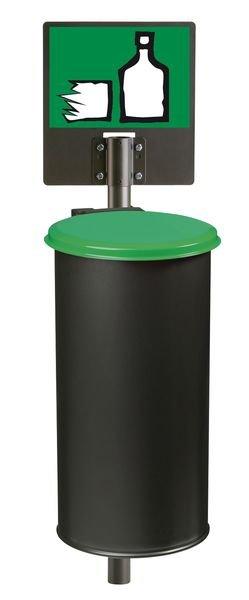 Autocollant Tri sélectif des déchets pour verre - Seton