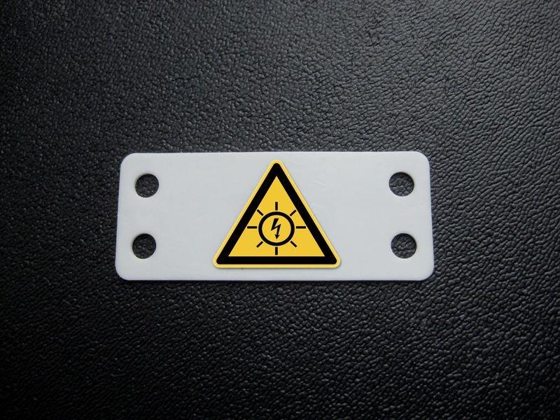 Etiquettes de danger Risque photovoltaïque - Seton