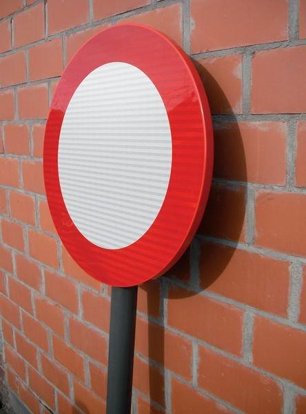 Panneaux de circulation anti-graffiti Premium Passage pour piéton - Seton