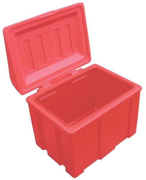 Prix Spécial - Kit complet matériel de déneigement avec pelle rouge - Bacs à sel de déneigement, bacs à sable