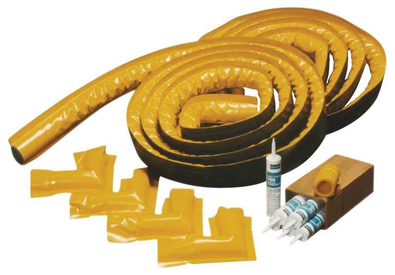Kit de barrage anti-pollution en mousse