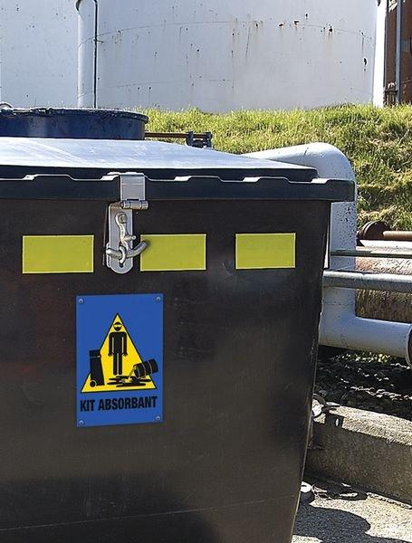 Panneau Signalisation de kit d'absorbants - Seton