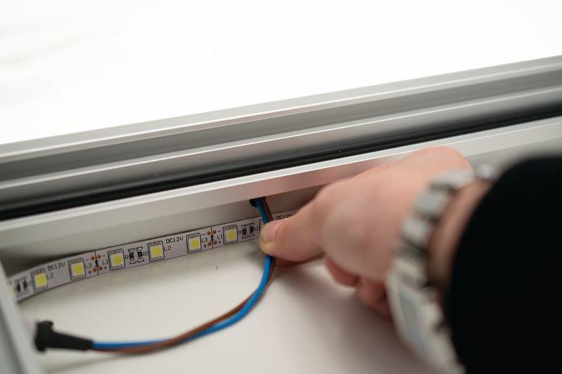 Eclairage pour vitrines VECS