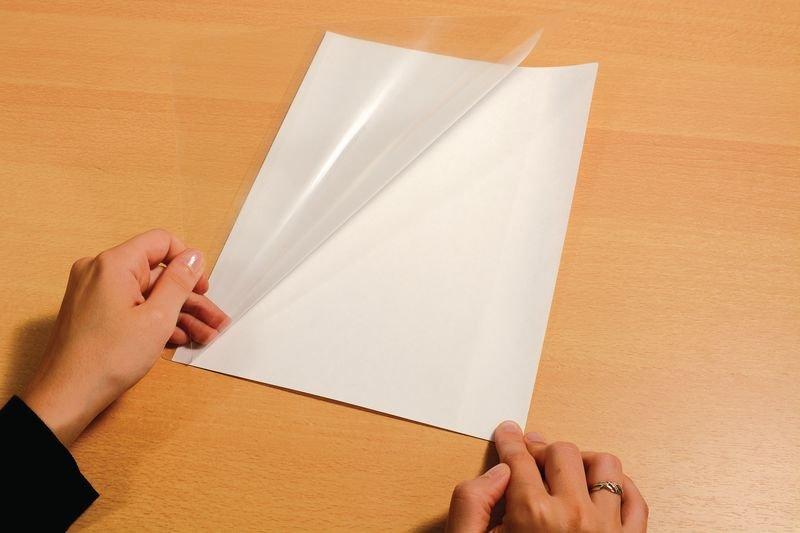 Pochettes pour plastification à froid avec dos adhésif repositionnable - Affichage et protection de documents en entreprise