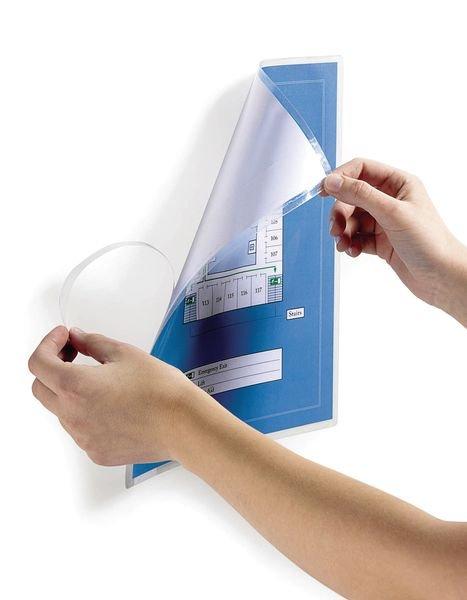 Pochettes pour plastification à froid avec dos adhésif repositionnable - Seton