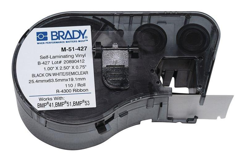 Marqueurs de câbles auto-protégés pour imprimante BMP51