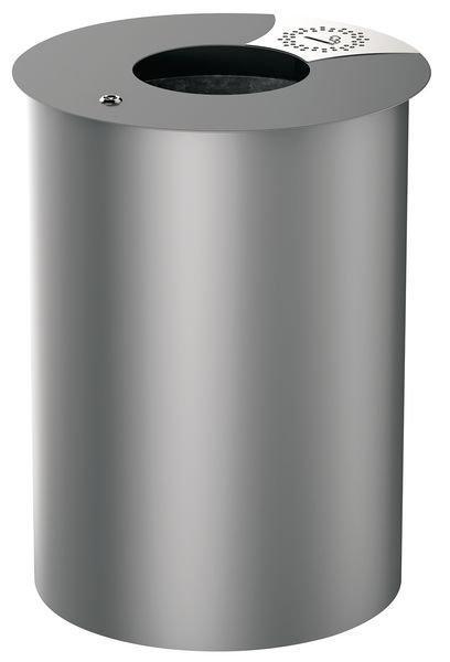 Poubelle extérieure design ronde