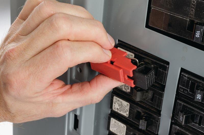 Système de condamnation TagLock™ pour disjoncteurs à tige unique - Condamnation électrique