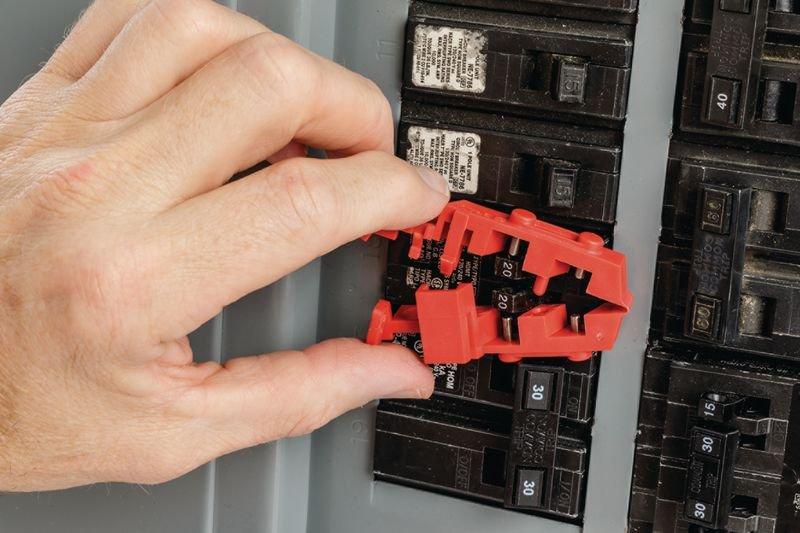 Système de condamnation TagLock™ pour disjoncteur - Condamnation électrique