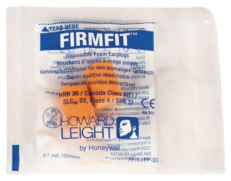 Bouchons d'oreilles Howard Leight™ Firmfit à usage unique - 37 dB