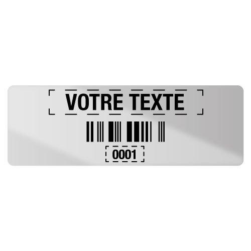 Etiquettes code à barres personnalisables en ligne - Seton