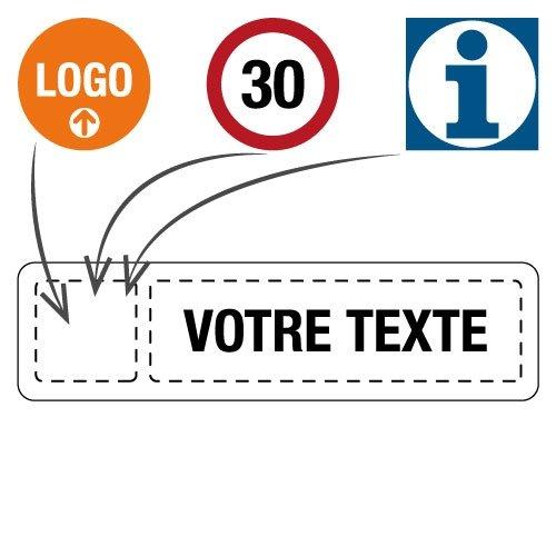 Panneaux de signalisation d'entreprise personnalisés - Seton