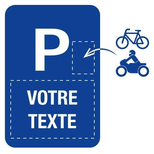 Panneaux  de signalisation « Places de parking » à personnaliser - Seton
