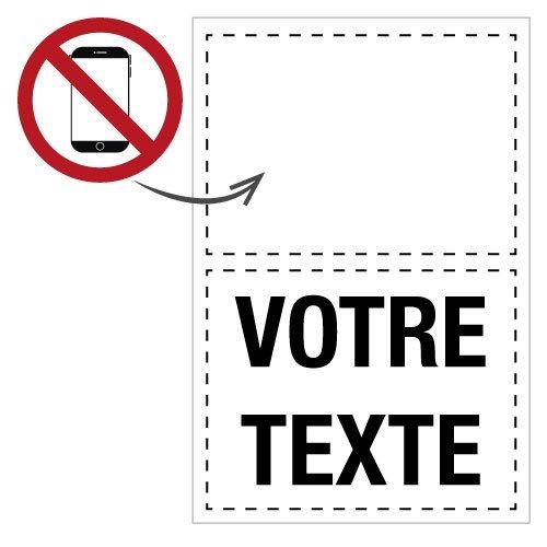 Panneaux et autocollants : les dangers du smartphone - Seton