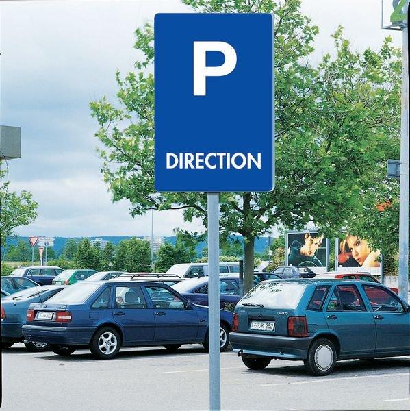 Panneau de signalisation Immobilisation du véhicule en cas d'infraction - Seton