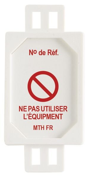 Plaquette d'inspection support MicroTag
