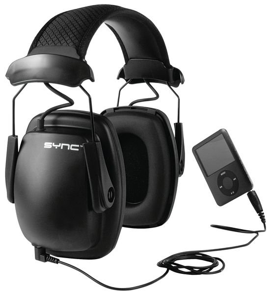Casque antibruit Howard Leight® Sync™ Stéréo - 31 dB - Seton