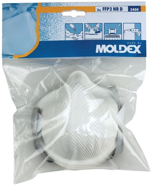 Masques anti-poussières Moldex Classique 2400 - FFP2 - Seton