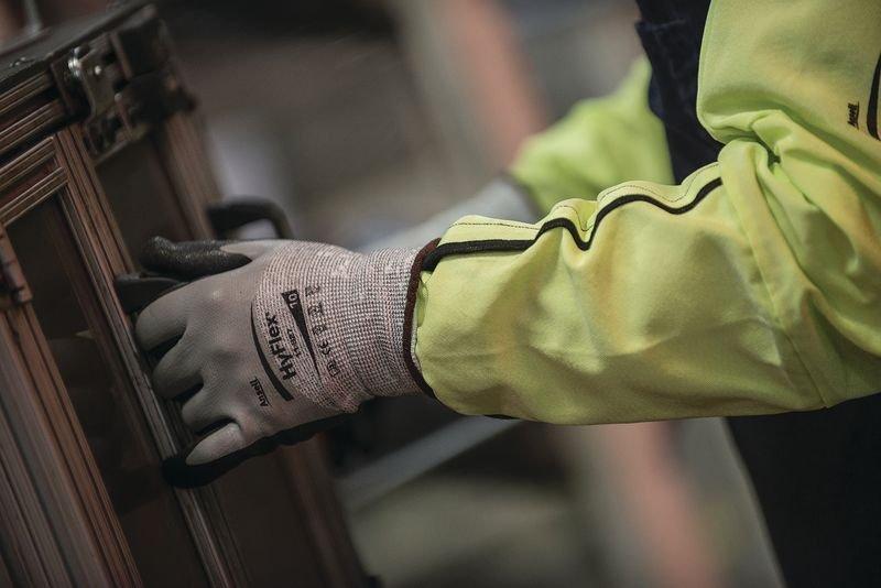 Manchette de protection Ansell HyFlex® 11-200 - Gants de Travail pour la sécurité et la protection en entreprise