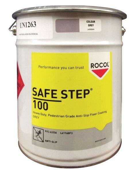 Peinture antidérapante Safe Step 100 pour zones piétonnes - Puissance moyenne